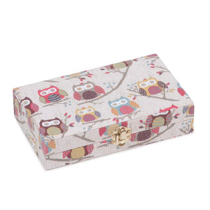Groves Excl. Print Collection: Bobbin Storage Box: Hoot