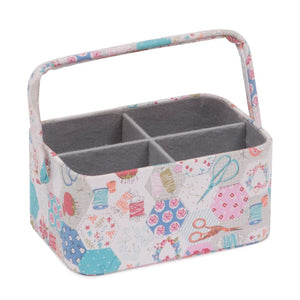 Groves Excl. Print Collection: Sewing Box / Desk Caddy: Notions