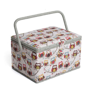Groves Excl. Print Collection: Sewing Box (L): Hoot