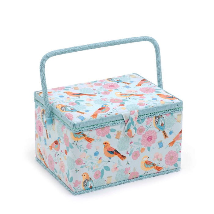 Groves Excl. Print Collection: Sewing Box (L): Rectangle: Birdsong