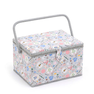 Groves Excl. Print Collection: Sewing Box (L): Rectangle: Homemade