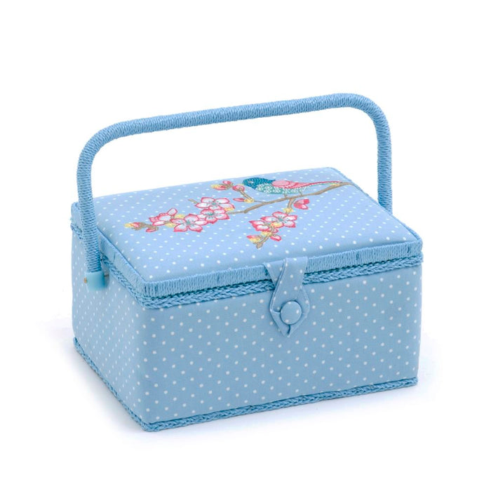 Groves Excl. Print Collection: Sewing Box (M): Embroidered: Rectangle: Tweet