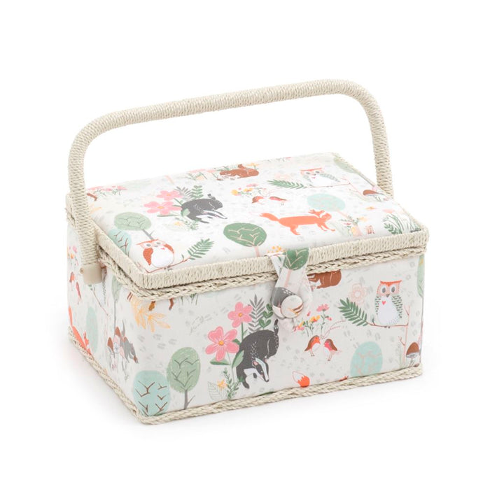 Groves Excl. Print Collection: Sewing Box (M): Rectangle: Woodland