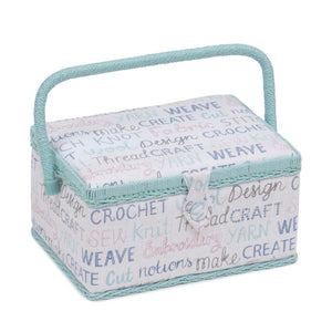 Groves Excl. Print Collection: Sewing Box: (M): Haby Words