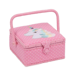 Classic Collection: Sewing Box: Embroidered: Unicorn