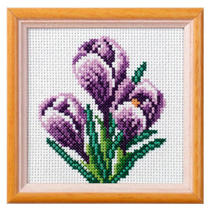 Cross Stitch: Crocus