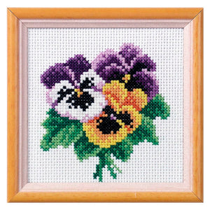 Cross Stitch: Pansy