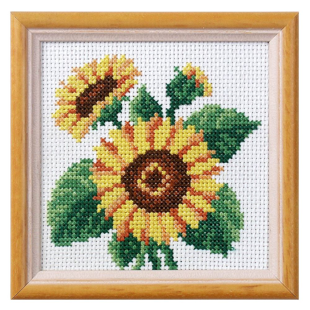 Cross Stitch: Sunflower
