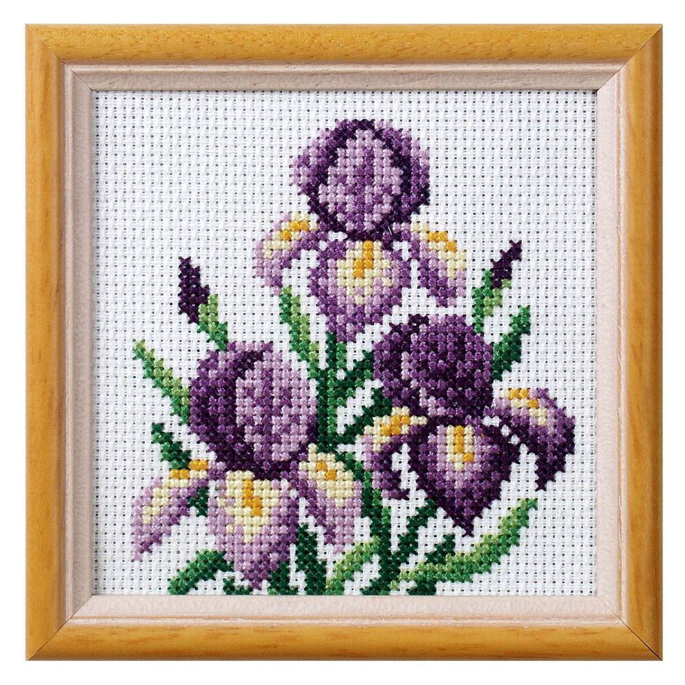 Cross Stitch: Iris