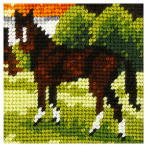 Embroidery Kit: Brown Horse