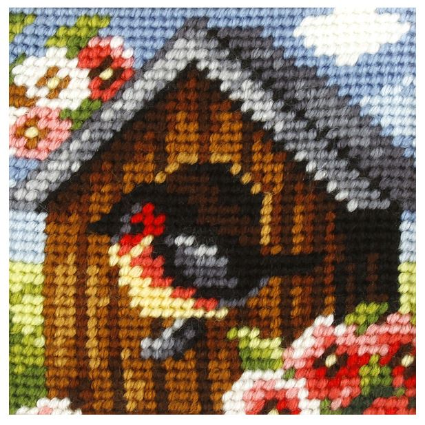 Embroidery Kit: Bird House