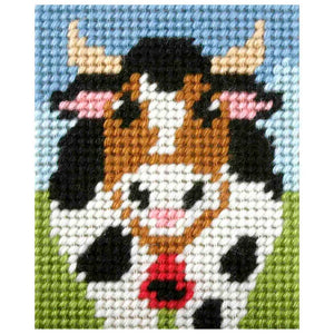 Embroidery Kit: Alpine Cow