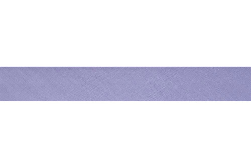 Bias Binding: Polycotton: 2.5m x 12mm: Heather