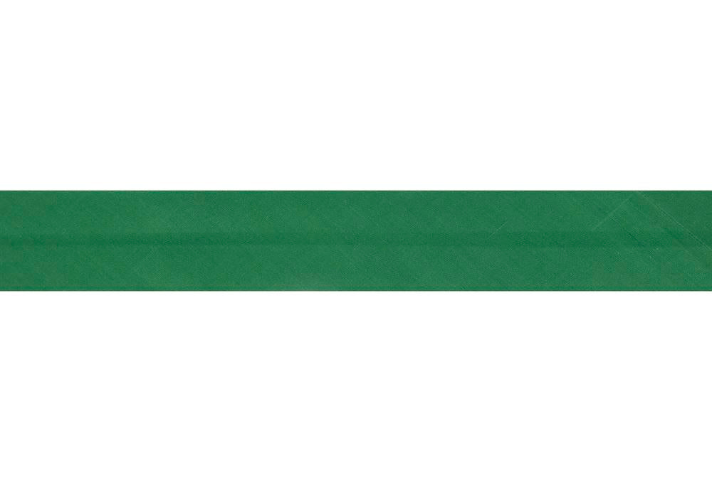 Bias Binding: Polycotton: 2.5m x 12mm: Emerald