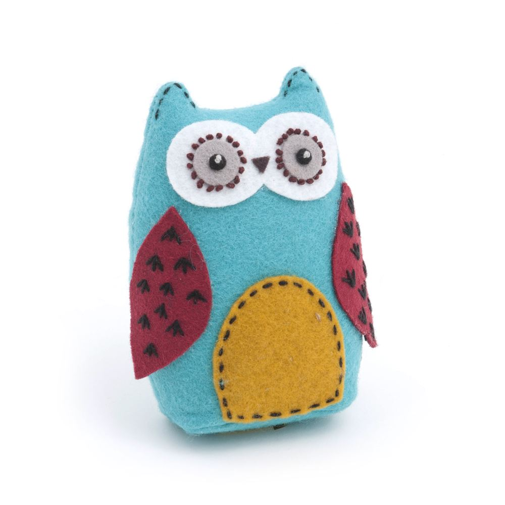 Groves Excl. Print Collection: Owl Pincushion: Hoot