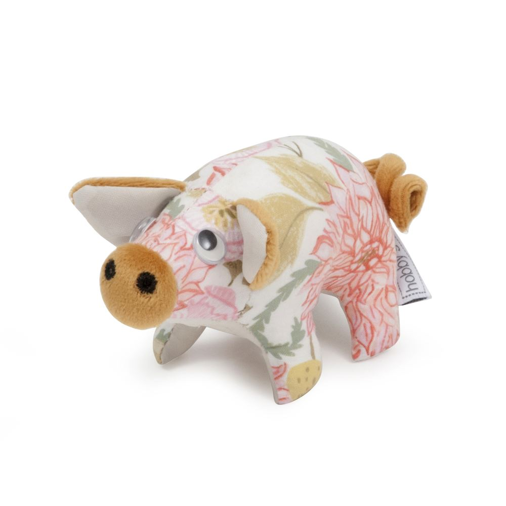 Classic Collection: Pincushion: Pig: Fable Floral
