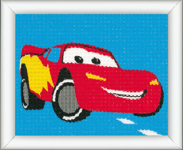 Tapestry Kit: Disney: Lightning McQueen