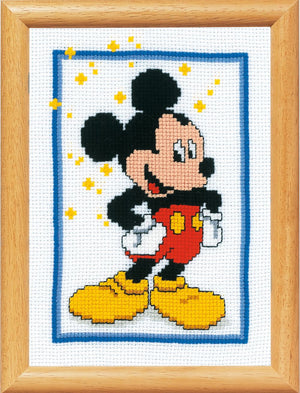 Counted Cross Stitch Kit: Disney: Mickey Mouse
