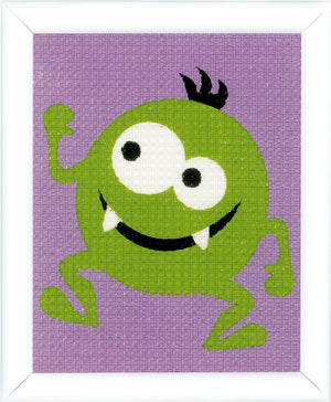 Tapestry Kit: Green Little Monster