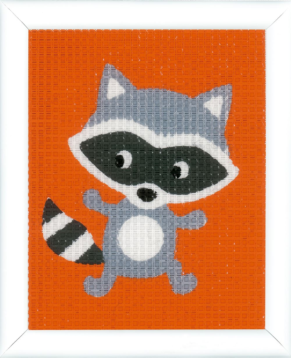 Tapestry Kit: Little Raccoon