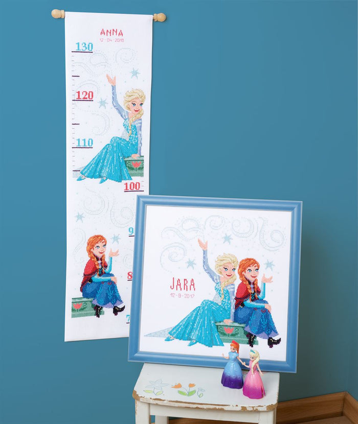 Counted Cross Stitch Kit: Disney: Frozen - Sisters Forever