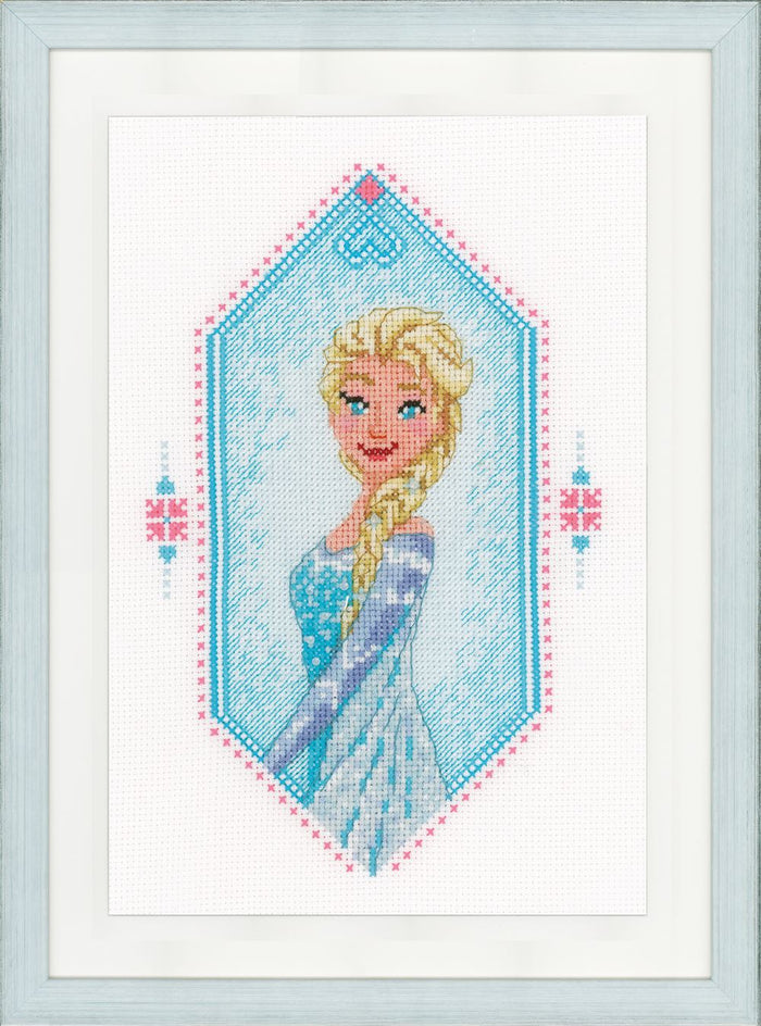 Counted Cross Stitch Kit: Disney: Frozen - Heart