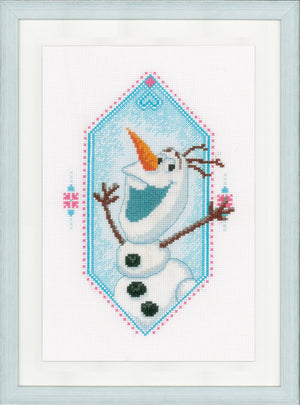 Counted Cross Stitch Kit: Disney: Frozen - I'm Olaf