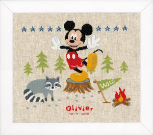 Counted Cross Stitch Kit: Disney: A Woodsy Adventure