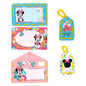 Embroidery Kit: Cards: Disney: Minnie - Daydreaming: Set of 5