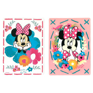 Embroidery Kit: Cards: Disney: Minnie - Daydreaming: Set of 2