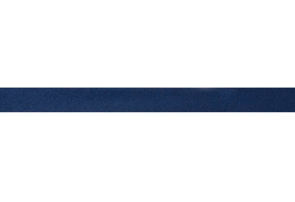 Bias Binding: Satin: 2m x 15mm: Navy