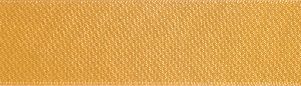 Double-Face Satin: 5m x 3mm: Old Gold