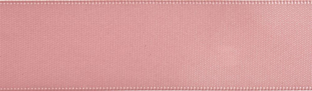 Double-Face Satin: 5m x 3mm: Pink