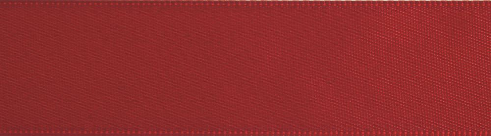 Double-Face Satin: 5m x 3mm: Red