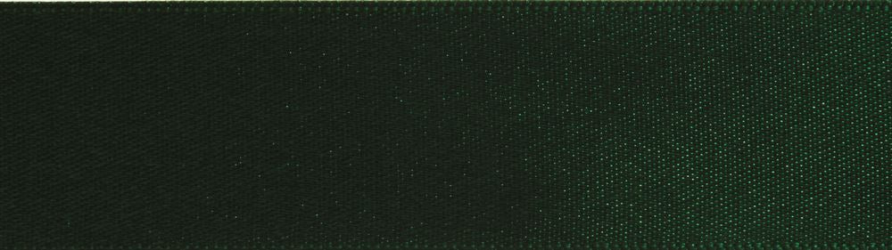 Double-Face Satin: 5m x 3mm: Green