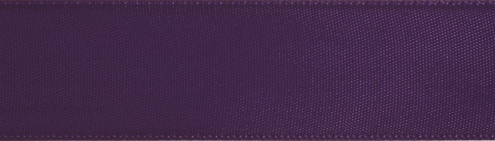 Double-Face Satin: 5m x 3mm: Purple