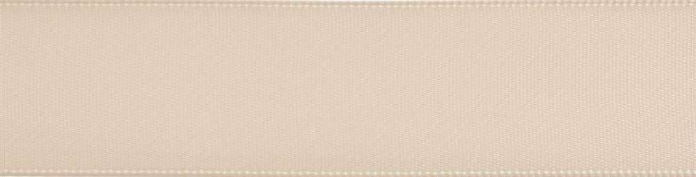 Double-Face Satin: 5m x 3mm: Ivory