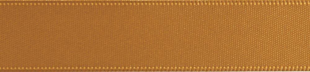Double-Face Satin: 5m x 3mm: Gold