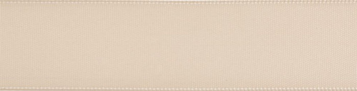 Double-Face Satin: 5m x 12mm: Ivory