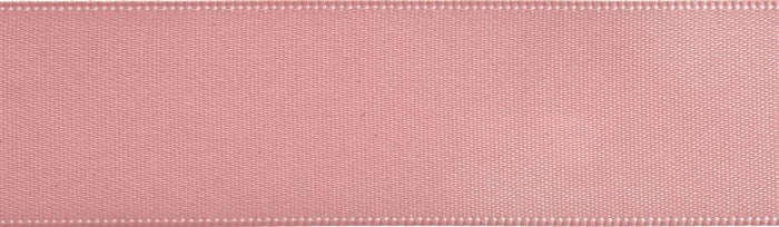 Double-Face Satin: 5m x 24mm: Pink