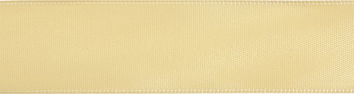 Double-Face Satin: 5m x 24mm: Harvest Yellow