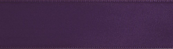 Double-Face Satin: 5m x 36mm: Purple