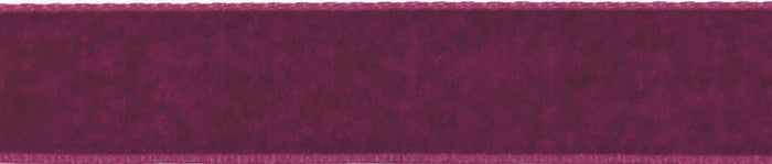 Velvet: 5m x 22mm: Bordeaux