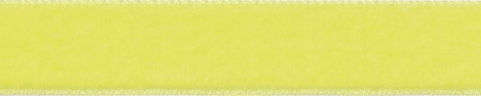 Velvet: 5m x 22mm: Citron