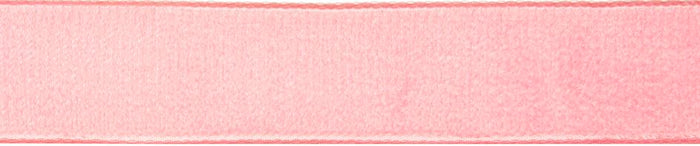 Velvet: 5m x 22mm: Blush Rose
