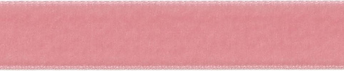 Velvet: 5m x 22mm: Dusty Rose
