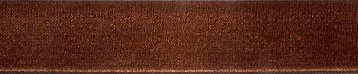 Velvet: 5m x 36mm: Brown