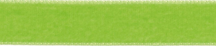 Velvet: 5m x 50mm: Apple Green