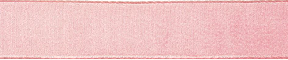 Velvet: 5m x 9mm: Blush Rose