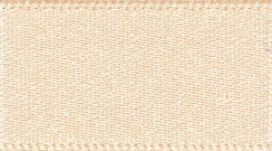 Double Faced Satin: 20m x 5mm: Cream